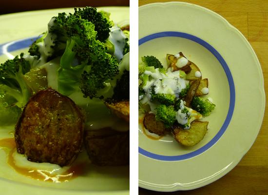 Kartoffel-broccolisalat
